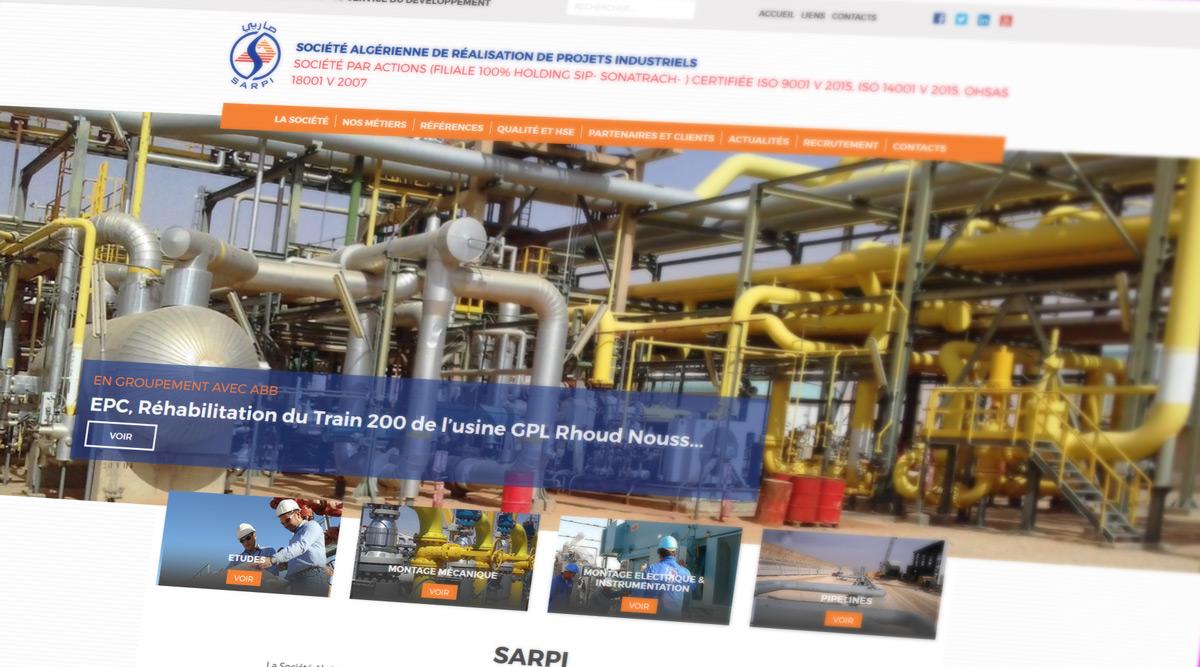 Site Web SARPI