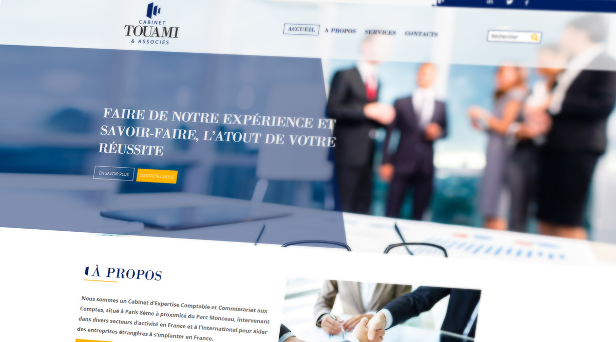 Site Web Cabinet Touami