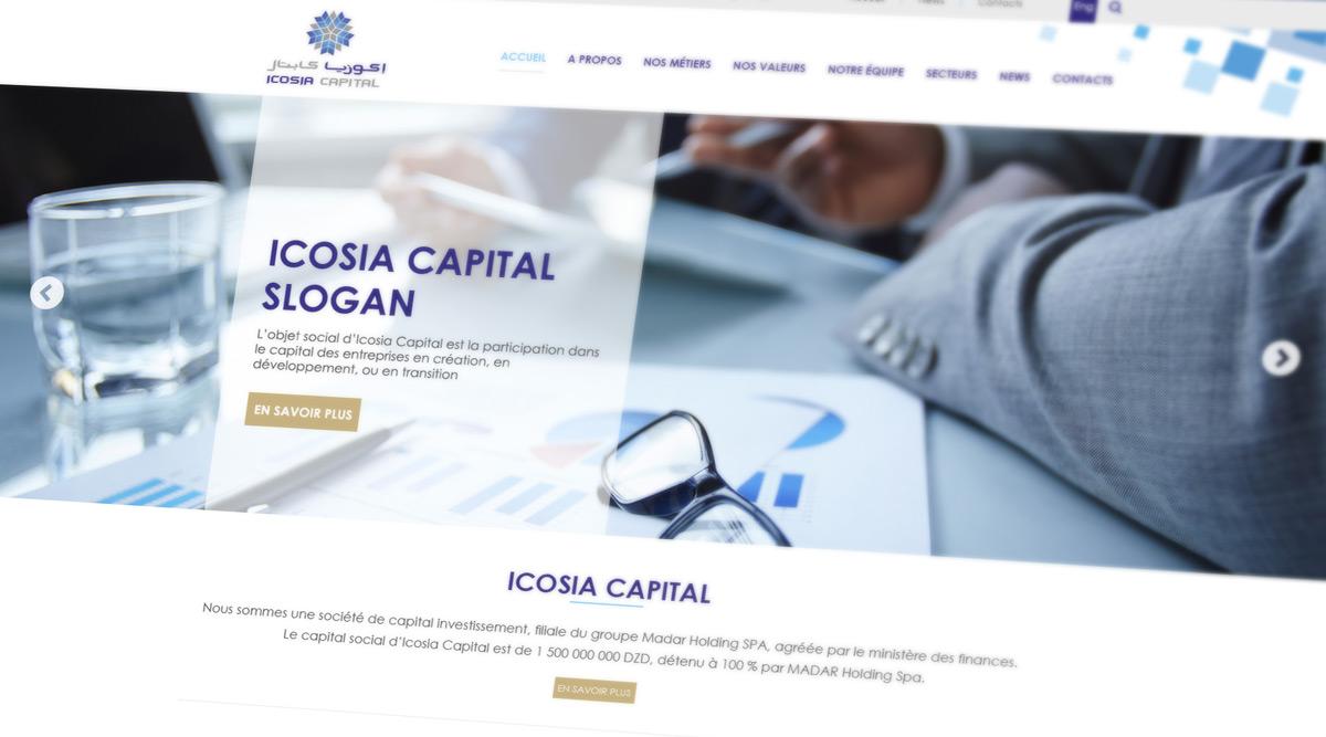 Site Web Icosia