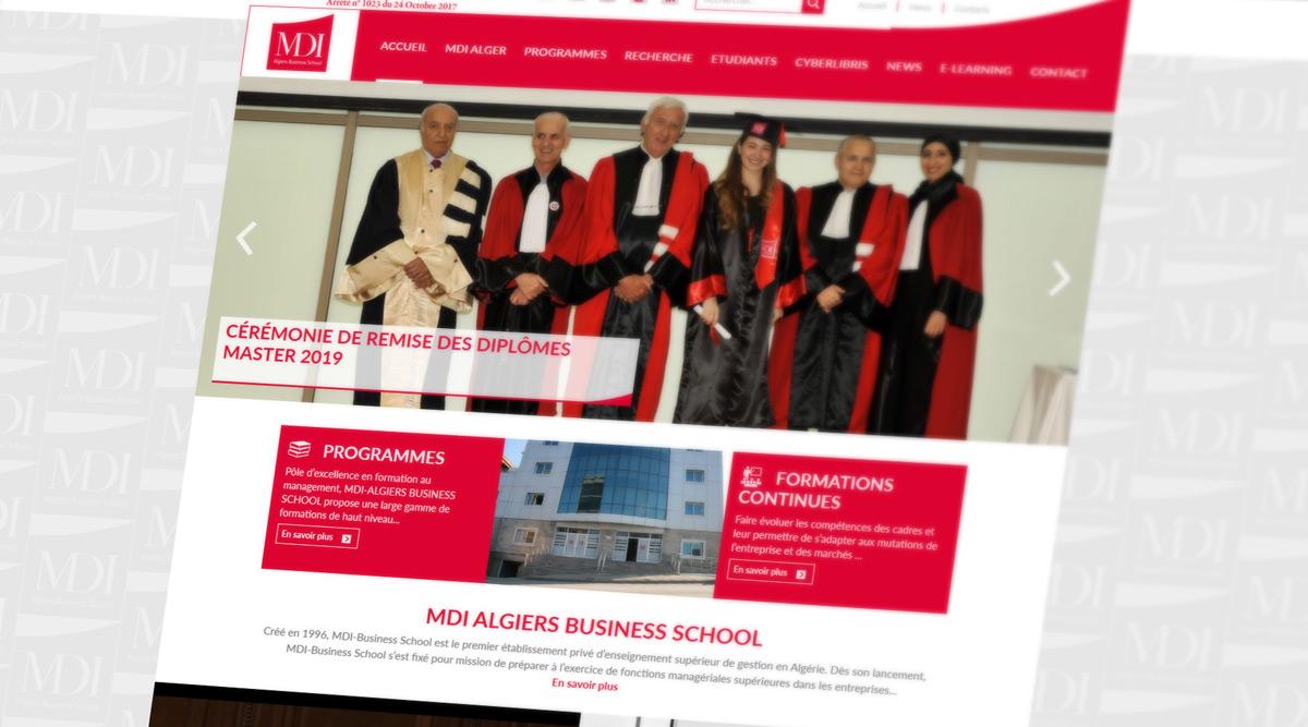 Site Web MDI