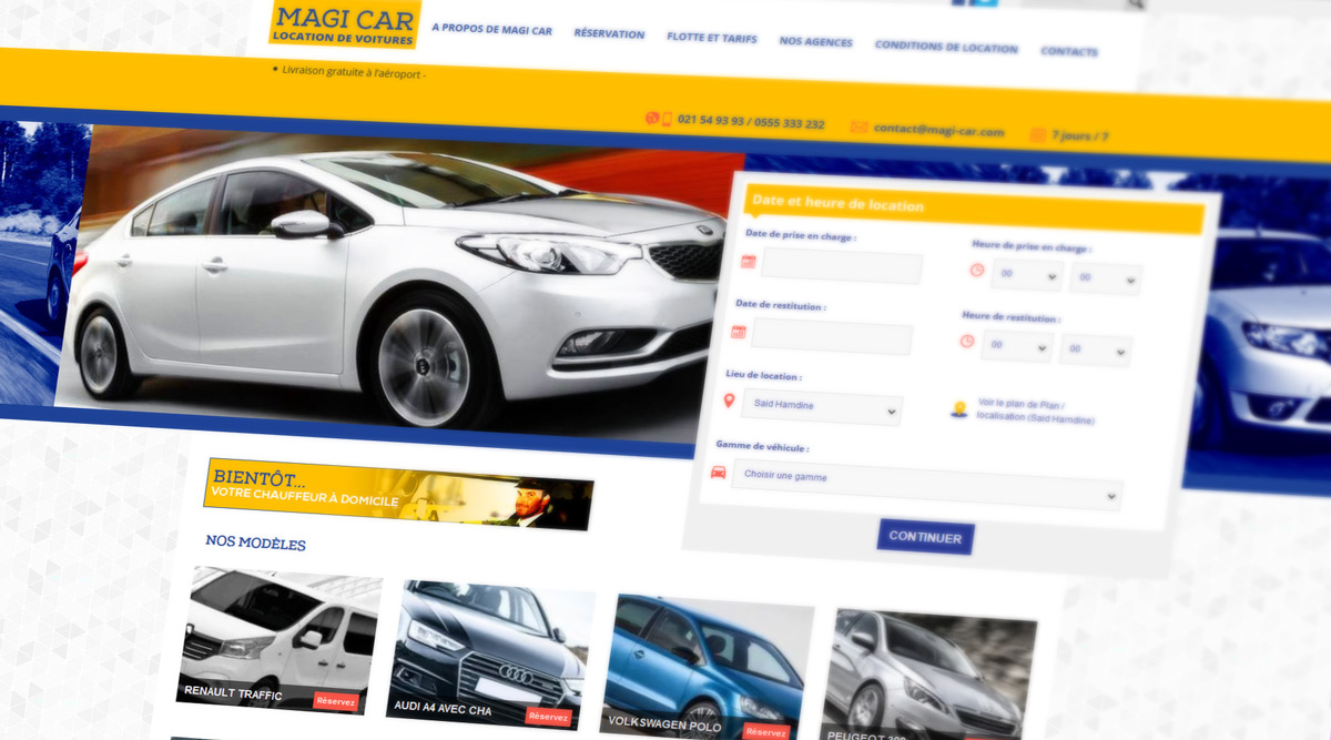 Site Web Magi Car