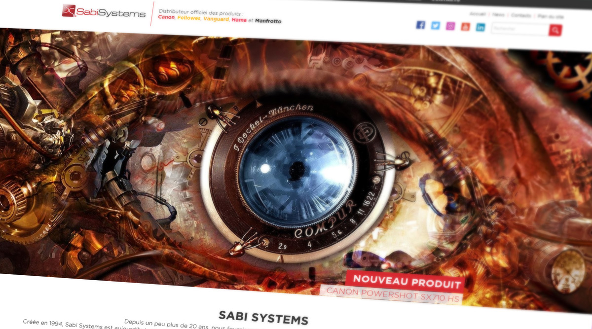 Site Web Sabisystems