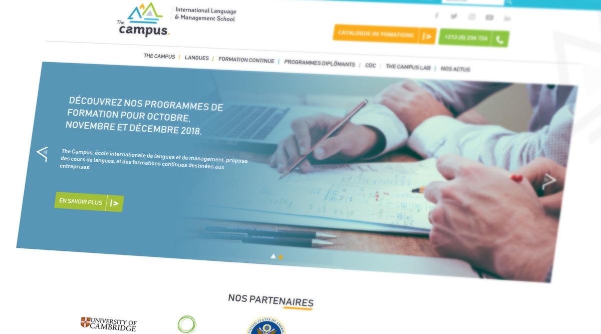 Site Web The Campus